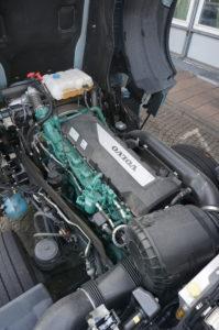 Volvo lijkt met de G13c-motor een juiste keuze te hebben gemaakt, want het verbruik is uitstekend.