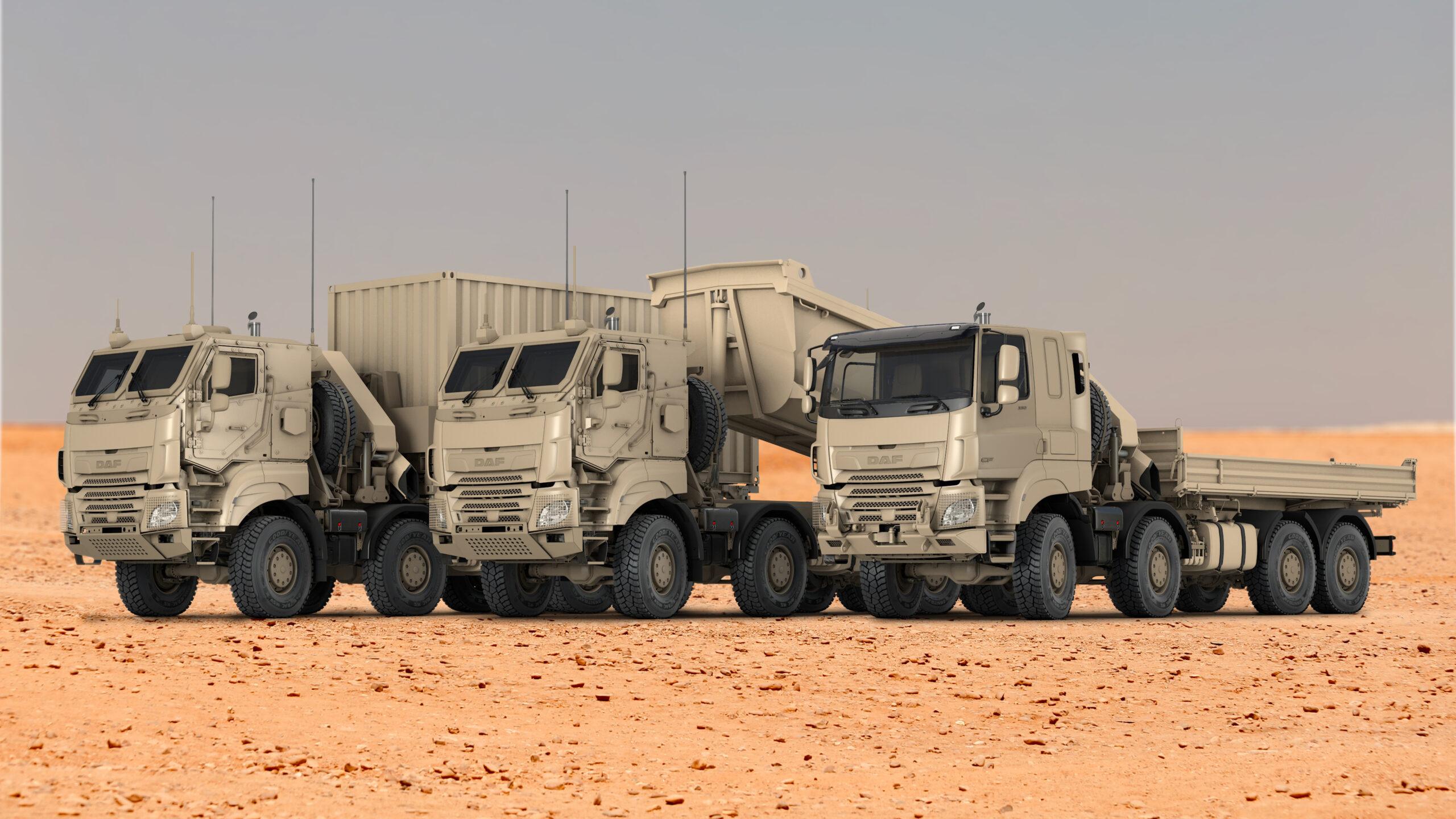 DAF schiet raak bij Belgische defensie • TTM.nl - TTM.nl