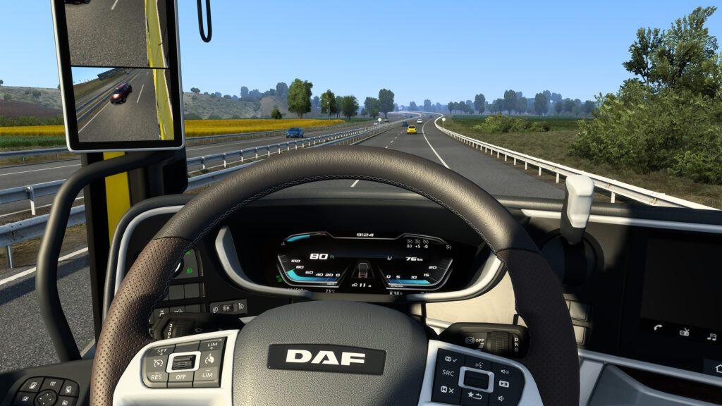 02 Drive the DAF XG XG in ETS2